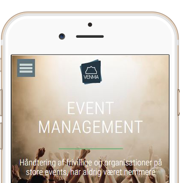 Event Management system Venma